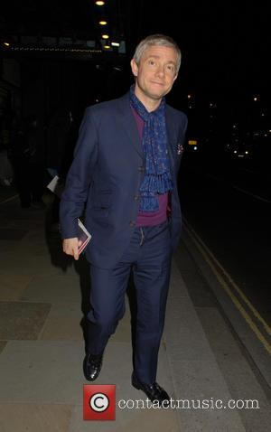 Martin Freeman - The Homecoming Gala Night at the Trafalgar Studios  - Departures - London, United Kingdom - Monday...