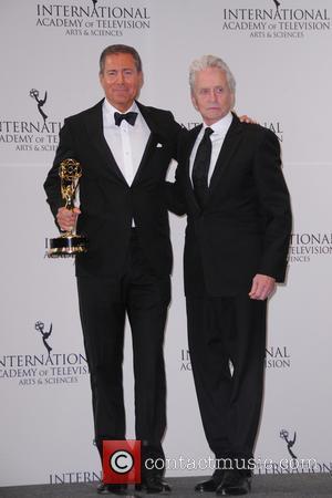 Richard Plepler and Michael Douglas