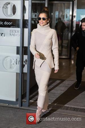 Cheryl Fernandez-Versini , Cheryl Cole - Cheryl Fernandez-Versini pictured arriving at the Radio 1 studios at BBC Portland Place -...
