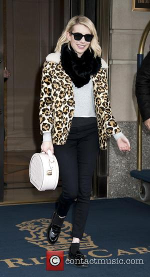 Emma Roberts - Emma Roberts Departing a NYC Hotel at Midtown Manhattan - New York, New York, United States -...