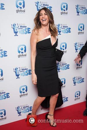 Lisa Snowdon - Global's Make Some Noise gala night held at Supernova - Arrivals. - London, United Kingdom - Tuesday...
