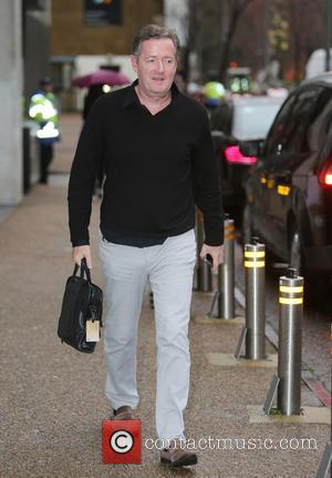 Piers Morgan - Piers Morgan outside ITV Studios - London, United Kingdom - Tuesday 24th November 2015