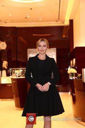 Kate Winslet - Kate Winslet, brand ambassador, opens the Longines boutique on Oxford Street - London, United Kingdom - Tuesday...