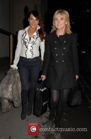 Lizzie Cundy , Anthea Turner - Look Good... Feel Better - launch event at Anna Casa Interiors - London, United...