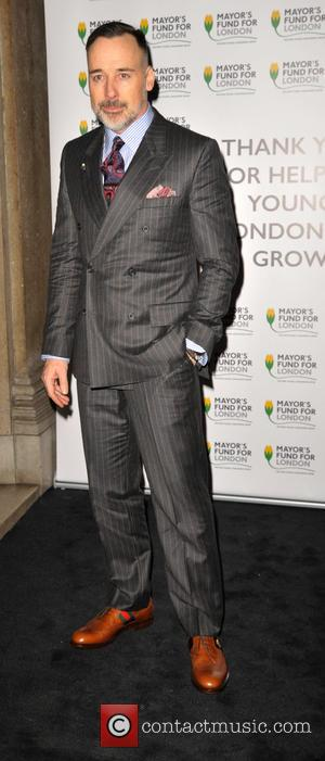 David Furnish - auction of 12 photographs by Andrea Jarvis-Hamilton. In aid of the Mayor's Fund for London at the...