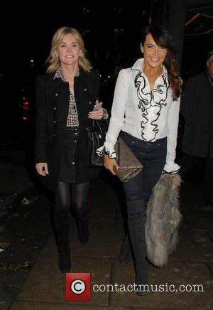 Anthea Turner and Lizzie Cundy