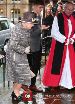 Queen Elizabeth Ii and Justin Welby