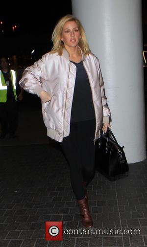 Ellie Goulding - Ellie Goulding departs on a flight from Los Angeles International Airport (LAX) - Lax, California, United States...