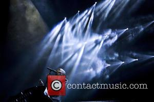 Faithless , Maxi Jazz - Faithless performing live in concert at the SSE Hydro at the SECC in Glasgow at...