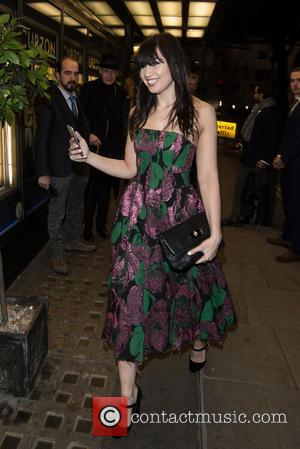 Daisy Lowe - La Legende de la Palme D'Or screening held at the Curzon Mayfair - Arrivals. - London, United...
