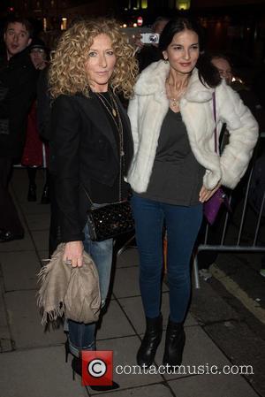 Kelly Hoppen , Guest - Stella McCartney shop Christmas lights switch on. - London, United Kingdom - Wednesday 25th November...