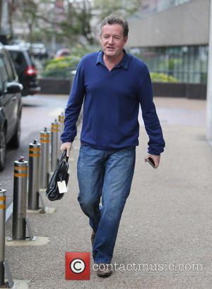 Piers Morgan - Piers Morgan outside ITV Studios - London, United Kingdom - Wednesday 25th November 2015