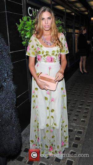 Amber le Bon - Screening of La Legende de La Palme d'Or at The Curzon Mayfair - Outside Arrivals at...