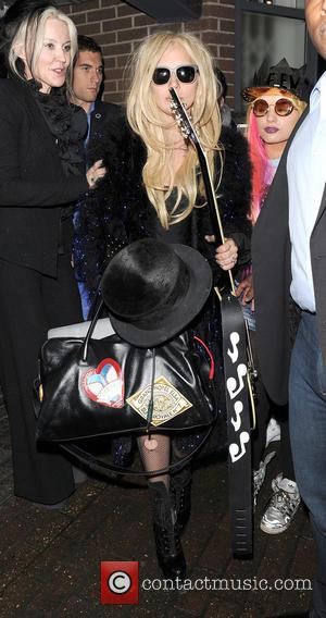 Lady Gaga - Lady Gaga spends her third straight day at a recording studio in Kings Cross, making some new...