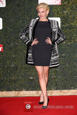Ashley Roberts - Daily Mirror and Sport England Pride of Sport Awards at Grosvenor House Hotel in London at Grosvenor...
