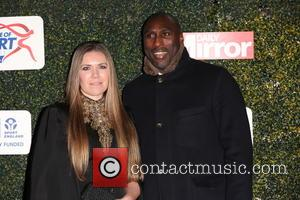 Sol Campbell - Celebrities attend Daily Mirror and Sport England Pride of Sport Awards at Grosvenor House Hotel in London....