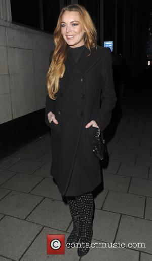 Lindsay Lohan - Screening La Legende de La Palme d'Or - Afterparty at China Tang - London, United Kingdom -...