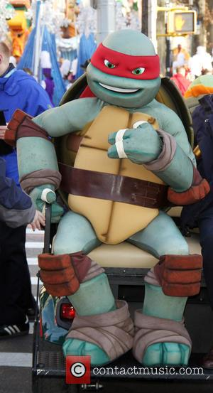 Teenage Mutant Ninja Turtles - 89th Annual Macy's Thanksgiving Day Parade at Macy's - New York City, New York, United...