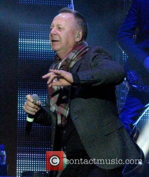 Jim Kerr - Simple Minds performing live on their 'Big Music' UK Tour at The O2 Arena - London, United...