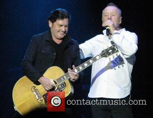Simple Minds performing live on their 'Big Music' UK Tour at The O2 Arena - London, United Kingdom - Thursday...