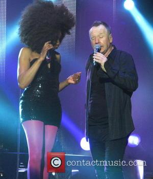 Sarah Brown and Jim Kerr