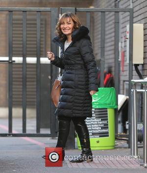 Lorraine Kelly - Lorraine Kelly outside ITV Studios - London, United Kingdom - Thursday 26th November 2015