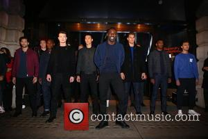 Idris Elba - Idris Elba and superdry launch their new aw15 premium menswear collection at the superdry flagship store on...
