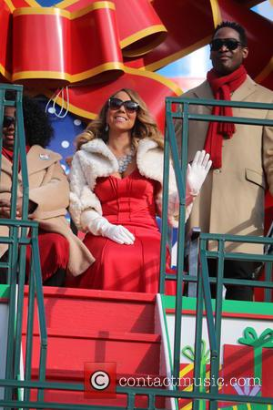 Mariah Carey - 89th Annual Macys Thanksgiving Day Parade - New York, New York, United States - Friday 27th November...