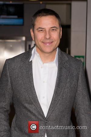 David Walliams - David Walliams pictured arriving at the Radio 2 studio at BBC Western House - London, United Kingdom...