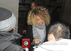 Fleur East - Fleur East Seen leaving the one show studios and meeting and greeting fans - London, United Kingdom...