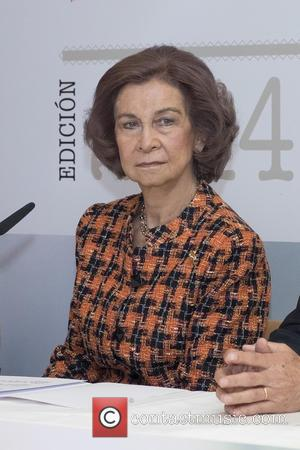 Queen Sofia - Queen Sofia of Spain attends CREFAT Foundation Awards 2015 at Cruz Roja building in Madrid - Madrid,...