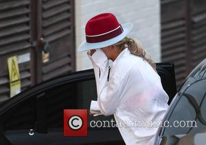 Rita Ora - The judges arrives at Fountain Studios for rehearsals for tomorrow's X Factor live show at x factor...