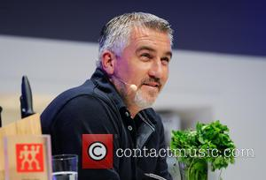 Paul Hollywood - Paul Hollywood and Mary Berry do a live demonstration in the Supertheatre at the BBC Good Food...