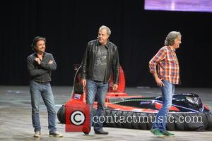 Jeremy Clarkson, Richard Hammond , James May - Clarkson Hammond May live at the O2 London - London, United Kingdom...