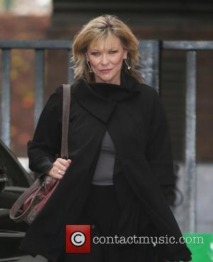 Clair King - Clair King outside ITV Studios today - London, United Kingdom - Friday 27th November 2015