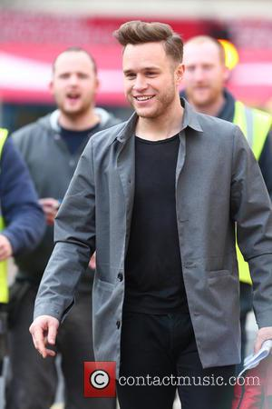 Olly Murs - 'X Factor' judges and presenters arrive at rehearsals at x factor - London, United Kingdom - Friday...