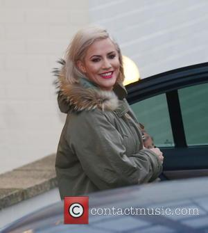 Caroline Flack - 'X Factor' judges and presenters arrive at rehearsals at x factor - London, United Kingdom - Friday...