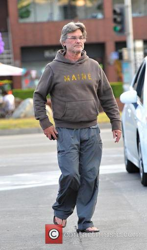 Kurt Russell - Goldie Hawn and Kurt Russell go grocery shopping together in Brentwood - Brentwood, California, United States -...