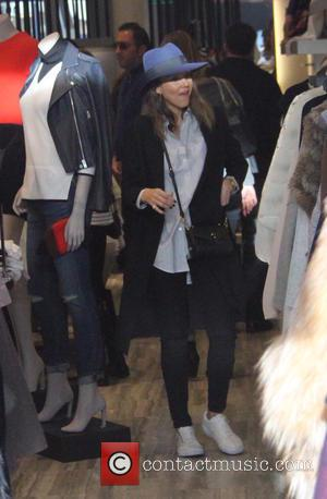 Jessica Alba - Jessica Alba takes her daughters Honor and Haven on a shopping trip in Beverly Hills at beverly...