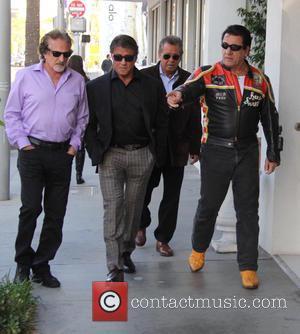 Sylvester Stallone and Chuck Zito