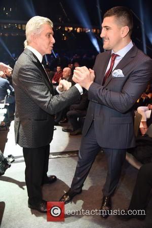 Michael Buffer and Marco Huck
