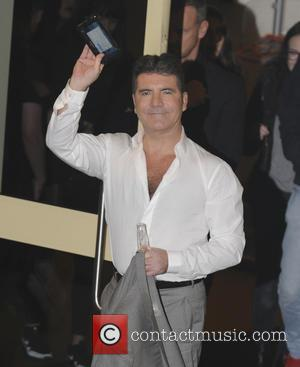 Simon Cowell - 'X Factor' judges, presenters and contestants seen leaving the studios at x factor - London, United Kingdom...