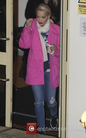 Rita Ora - 'X Factor' judges, presenters and contestants seen leaving the studios at x factor - London, United Kingdom...