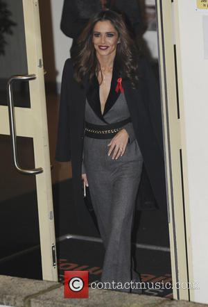Cheryl Fernandez Versini - 'X Factor' judges, presenters and contestants seen leaving the studios at x factor - London, United...