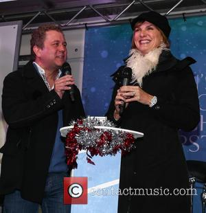 Fiona Bruce and Jon Culshaw