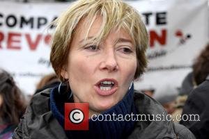 Emma Thompson - People's March for Climate, Justice and Jobs in London at London - London, United Kingdom - Sunday...