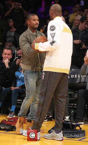 Michael B. Jordan and Kobe Bryant
