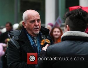 Peter Gabriel - Climate March London - London, United Kingdom - Sunday 29th November 2015