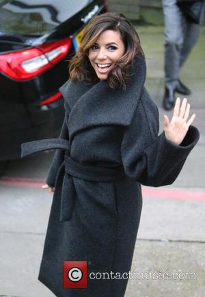 Eva Longoria - Eva Longoria outside ITV Studios - London, United Kingdom - Monday 30th November 2015