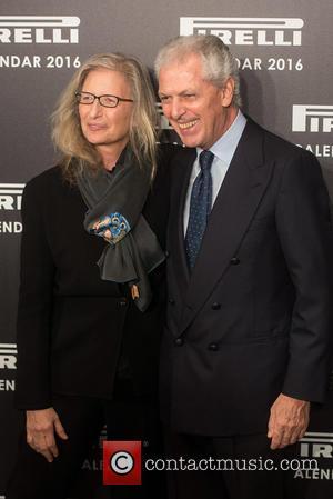 Annie Leibovitz and Marco Tronchetti Provera